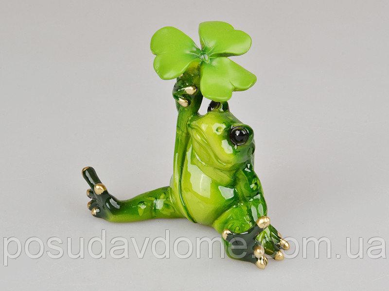 Фигурка декоративная жаба 9х6х9  см, Lefard, 919-008