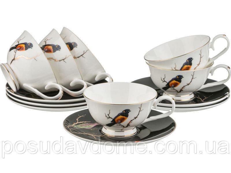 """Чайный набор """"Золотая птица"""" 12 предметов , Lefard, 264-636"""