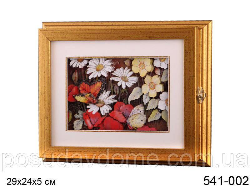 Ключница Lefard 26,5х23,5х5 см Полевые цветы, 541-002
