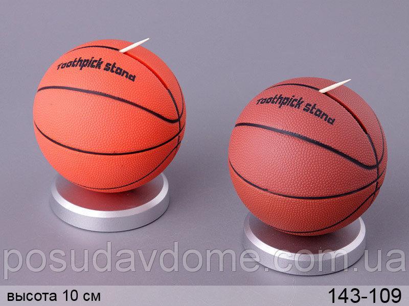 Подставка для зубочисток Lefard  Баскетбол в ассортименте 8х8х10 см, 143-109