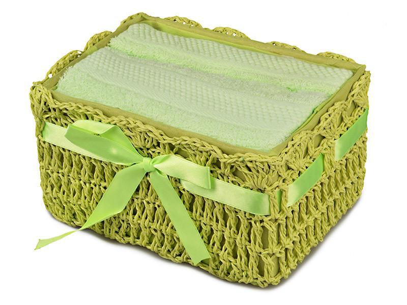Комплект полотенец из 2 шт 40х60 см Lefard в подарочной упаковке, 813-038