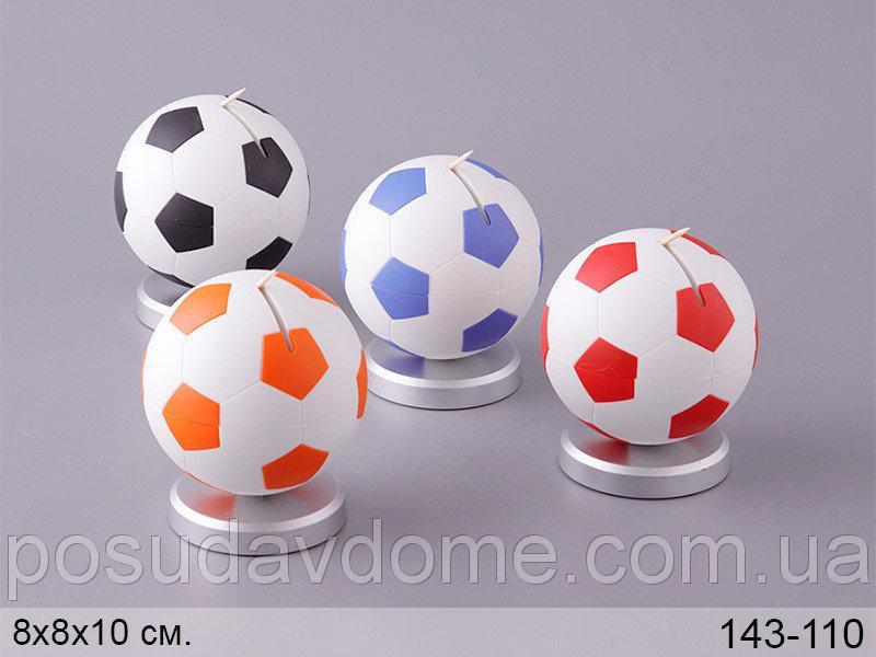 Подставка для зубочисток Lefard Футбол 8х8х10 см, 143-110