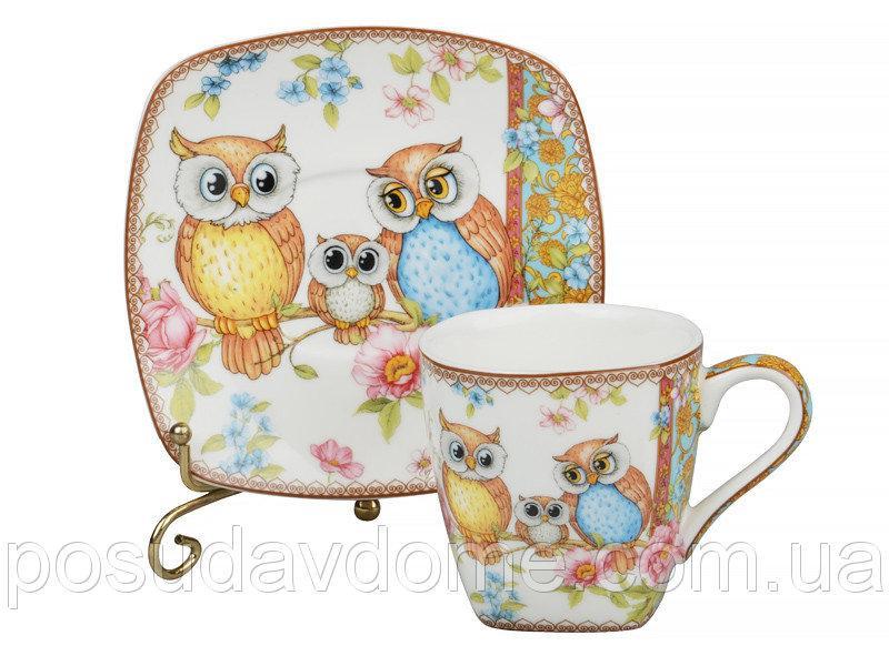 Кофейный набор Lefard Совы 12 предметов, 924-092