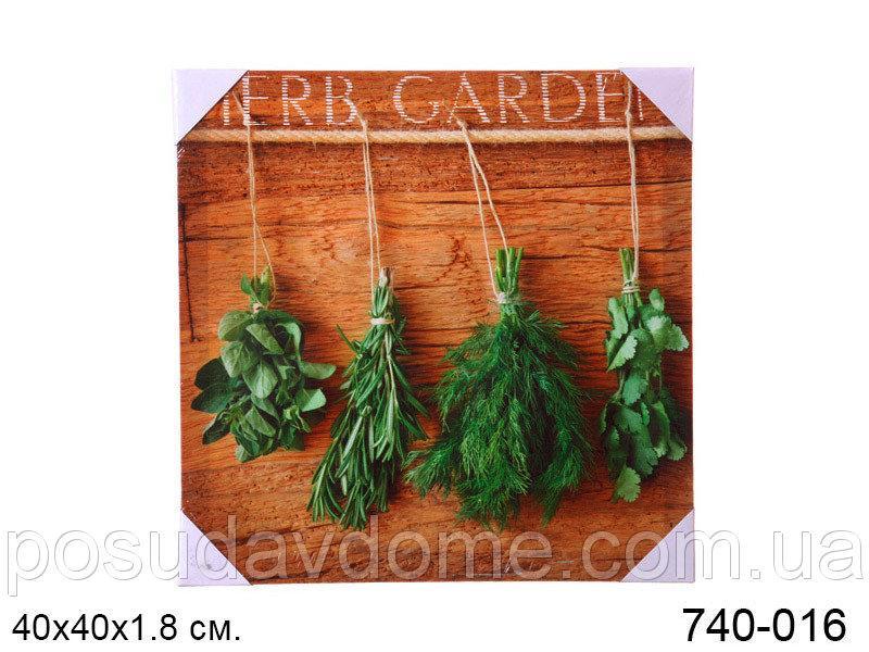 Панно декоративное Brookpace 40x50x1.8cm, 740-016