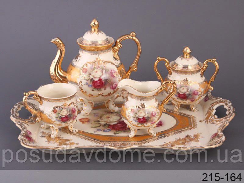 Чайный набор Lefard Букет роз 10 предметов, 215-164