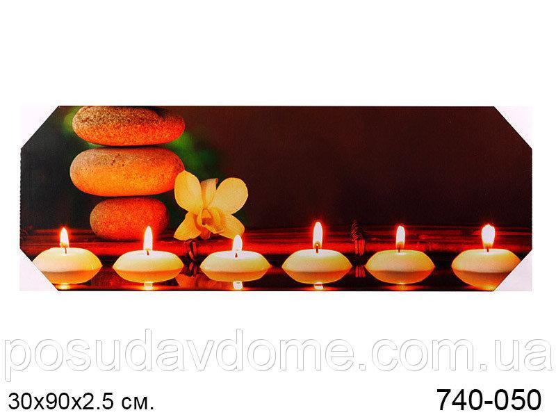 Панно декоративное Brookpace 30x90x2.5cm (с подсветкой), 740-050