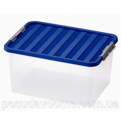 Клипбокс Ящик пластиковый под кровать 14л, 40*29*18см, HEIDRUN, 1604