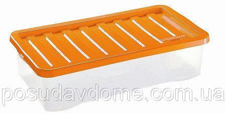 Квазар Ящик пластиковый под кровать 40л, 80*40*18см, HEIDRUN, 1687