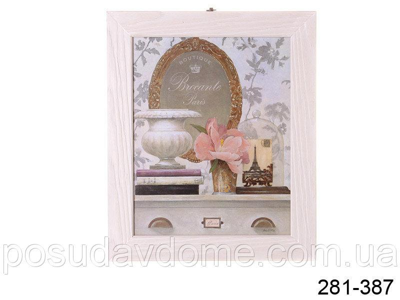Панно декоративное Brookpace под стеклом 24*30 см, 281-387