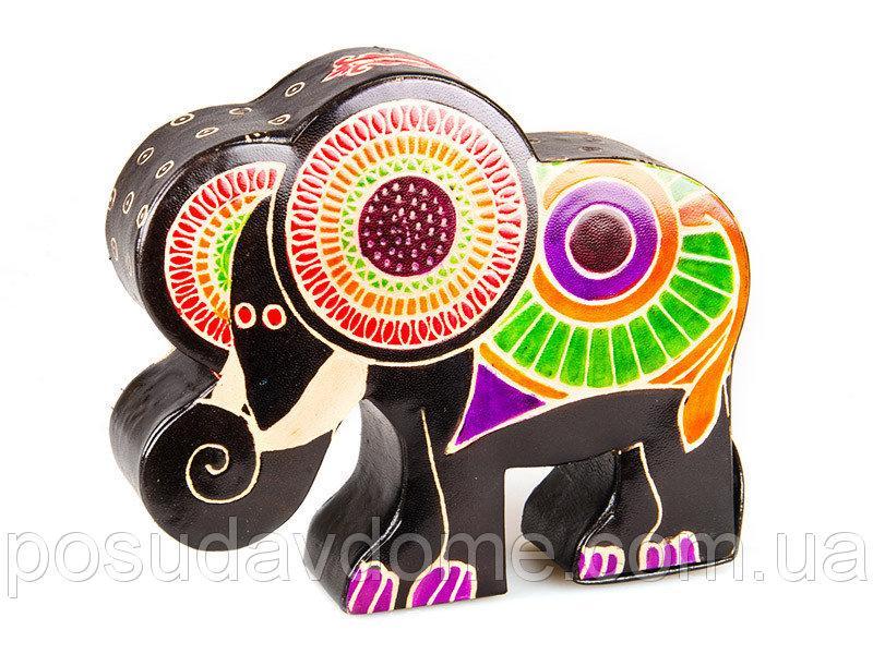 Копилка Lefard 16х14см (кожа, Индия), 872-013