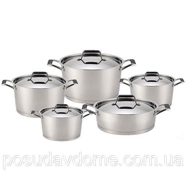 Набор посуды Fissman Elara 10 предметов, SS-5823.10
