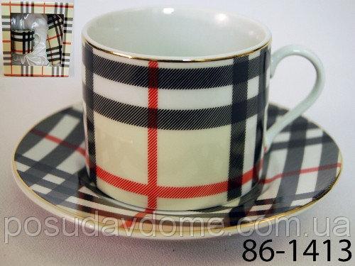 Чайный набор Lefard Шотландия 2 предмета, 86-1413
