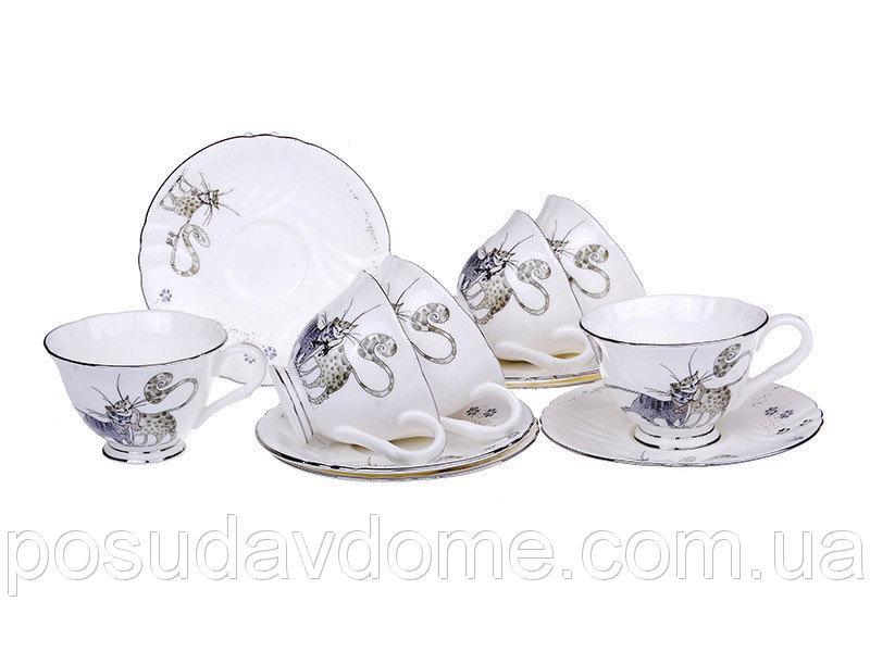 Фото Сервизы столовые, чайные, кофейные, Сервизы и наборы кофейные от Lefard Кофейный набор Lefard 100 мл 12 предметов, 264-572