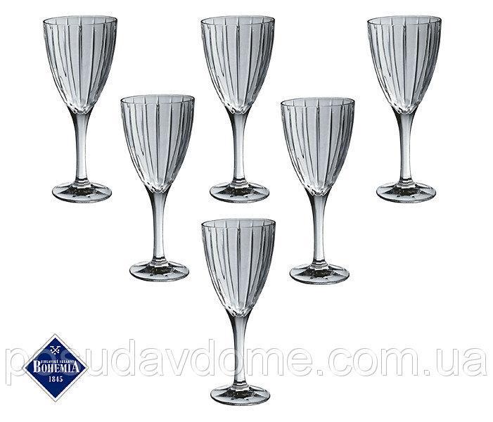 Набор бокалов для вина Bohemia Jihlava Карен 240 мл 6 штук 663-070