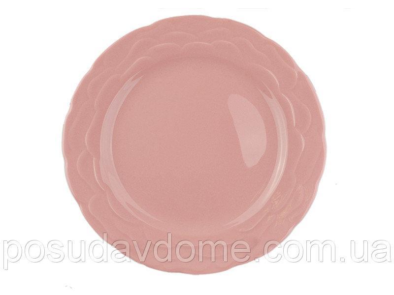 Тарелка Lefard Фулия розовая 28 см, 942-016