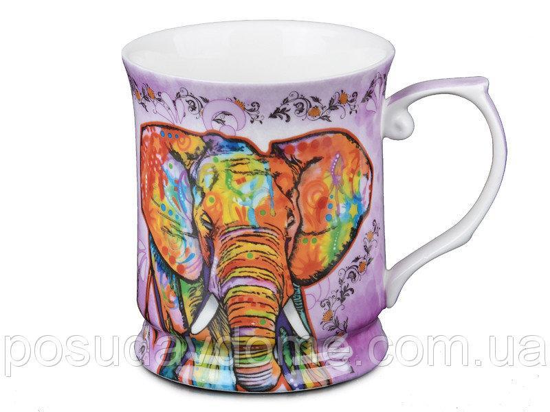 Кружка Lefard Радужный слон 400 мл , 924-183