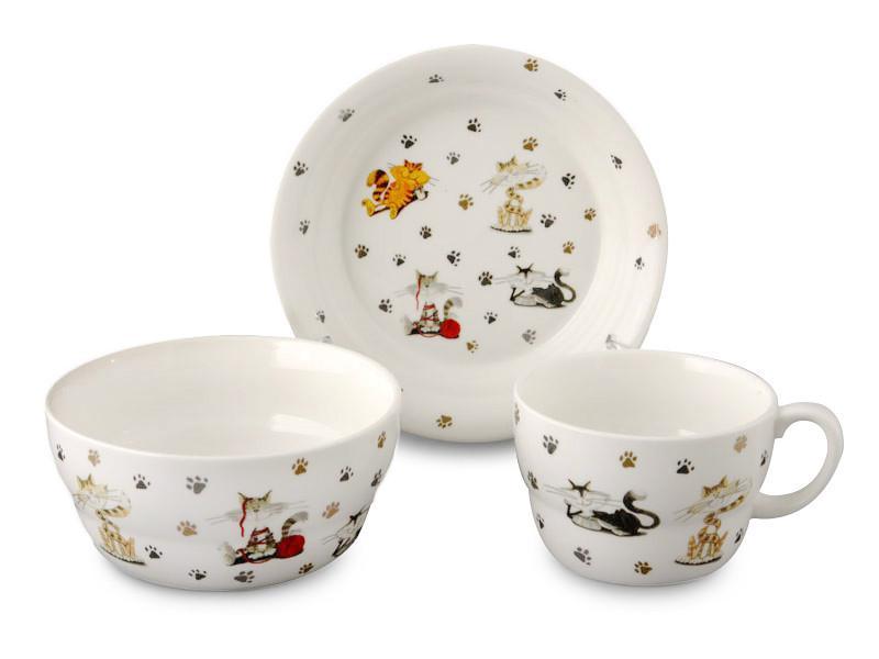 Набор детской посуды Lefard Пушистик 3 предмета, 359-169