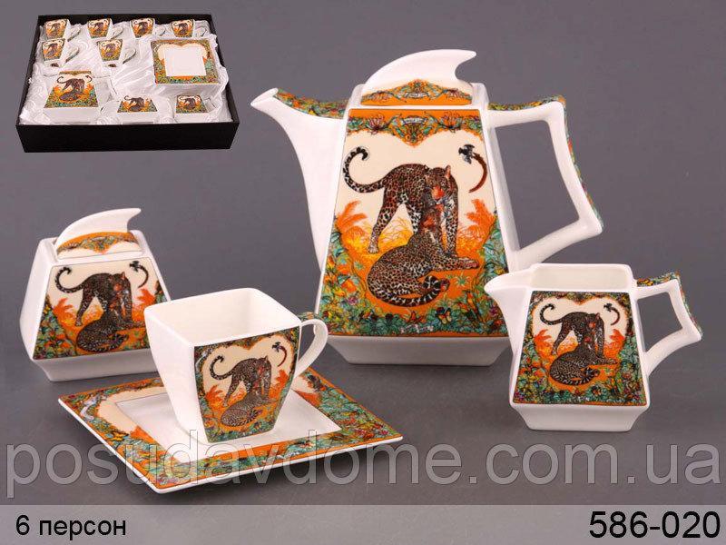 Чайный сервиз Lefard Жаркая Африка 15 предметов , 586-020