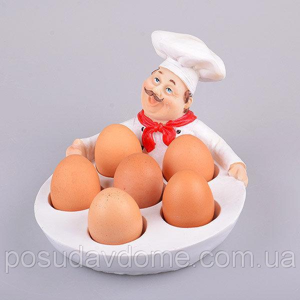 Блюдо для яиц Lefard Шеф-повар 24х18х14,5 см, 10-134