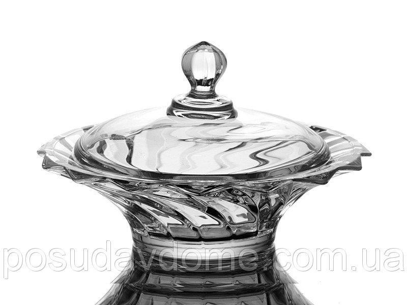 """Конфетница """"пикаделли"""" 21 см., Crystalite Bohemia, 387-510"""