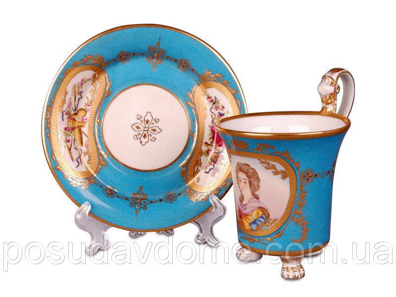 Чайный набор Lefard Придворная дама 2  предмета (чашка 300 мл), 93-096