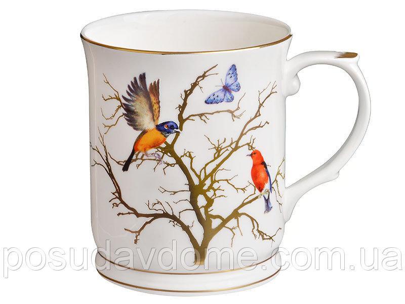 "Кружка ""Золотые птицы"" 400 мл, Lefard, 264-637"