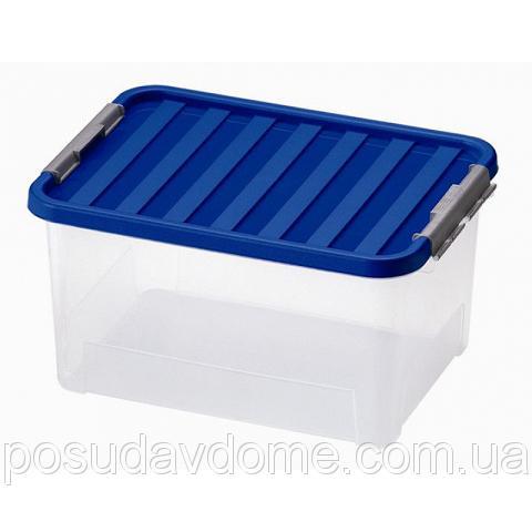 Клипбокс Ящик пластиковый 38л, 52*36,5*26см, HEIDRUN, 1605