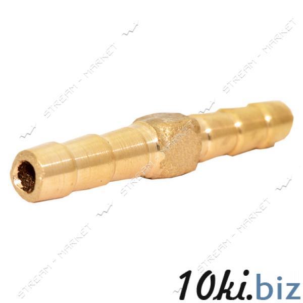 Фитинг латунный Соединитель штуцерный одинарник 4-4 (диаметр 4 мм) Штуцеры для труб на Электронном рынке Украины