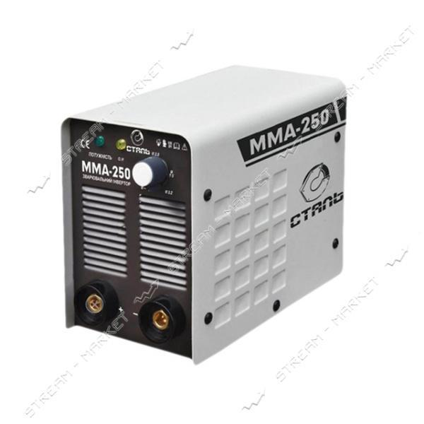 Инверторный сварочный аппарат СТАЛЬ ММА-250, 5, 5 кВт, d.электр.1, 6 - 5, 0мм. 4.5 кг