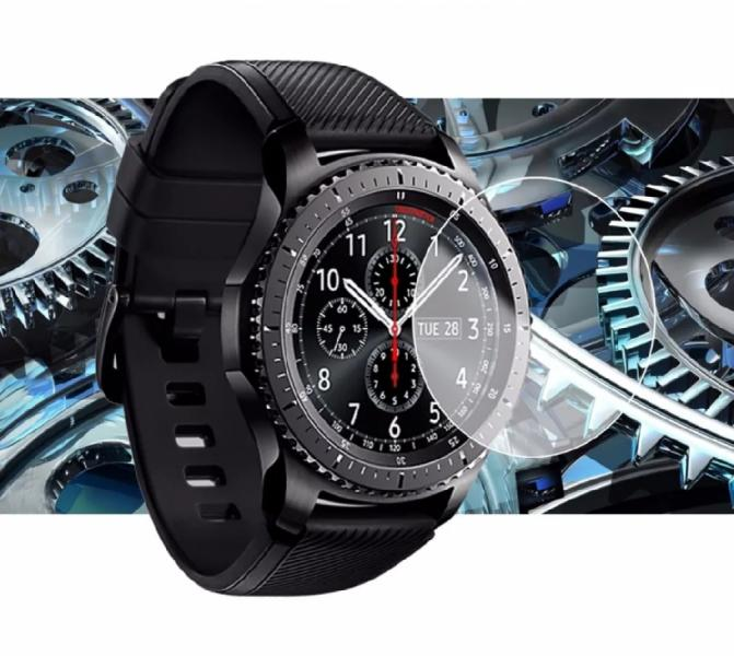 Стекло защитное для Samsung Gear S3, Galaxy Watch 46mm