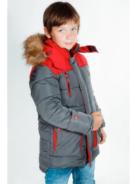 """Куртка для мальчика 04М-6/16 """"Егорка"""""""