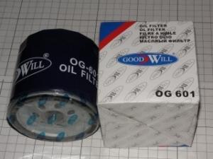 Фото Фильтры на иномарки, GOODWILL Фильтр масл.G/W 601 OG CHERY tiggo 1,8