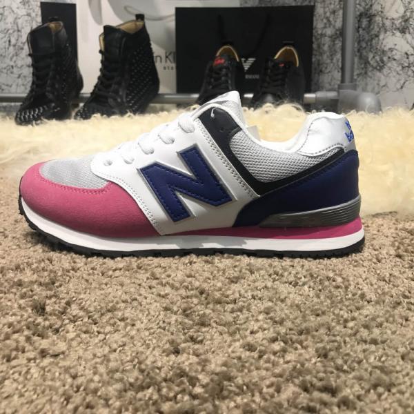 New Balance 574 Blue/Pink