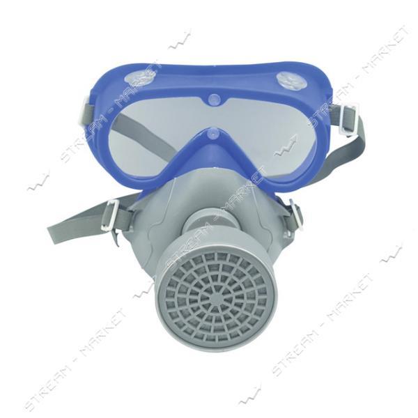 Комплект очки с респиратором VITA Сталкер-1 (аналог 3М 3200)