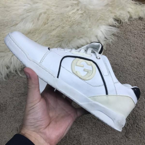 Gucci Brooklyn GG Trainers White