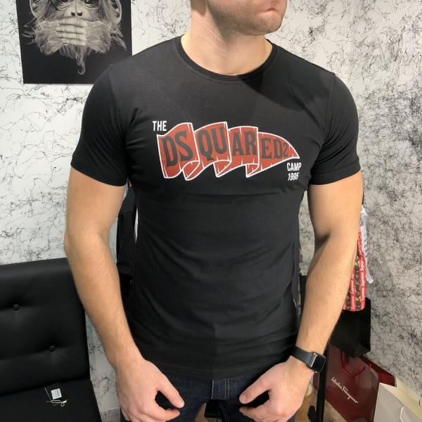 T-Shirt Dsquared2 True Camp Black
