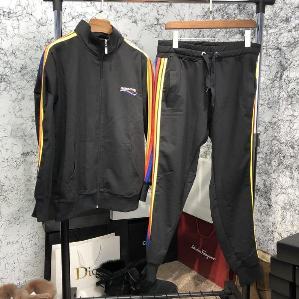Balenciaga Sport Suit Rainbow Black