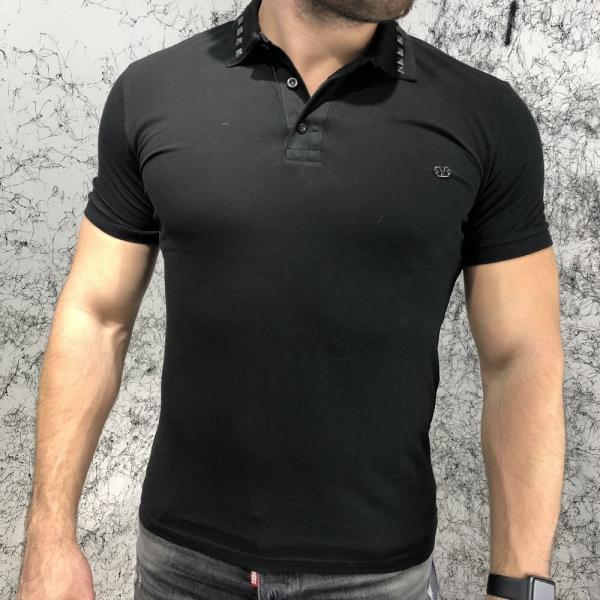 Valentino Polo Rockstud Untitled Black