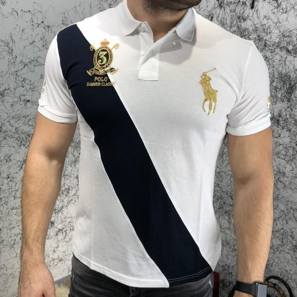 Polo by Ralph Lauren Summer Classic 3 Fit Mesh White
