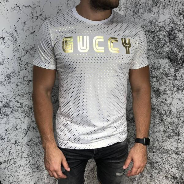 Gucci T-Shirt Golden Stars Black
