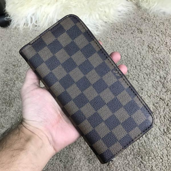Louis Vuitton Zippy Vertical Damier Ebene