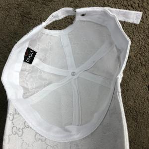 Фото  Baseball Hat Gucci Web GG Supreme White