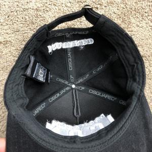 Фото  Baseball Hat Dsquared2 Icon Black
