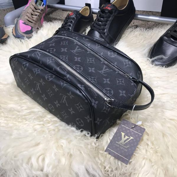 Nessesser Louis Vuitton King Size Monogram Eclipse