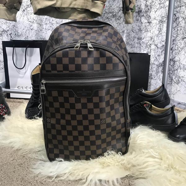 Backpack Louis Vuitton Michael Damier Ebene