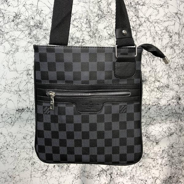 Messenger Louis Vuitton District Pochette Damier Graphite
