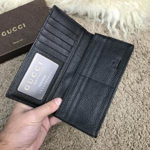 Фото Портмоне и кошельки Gucci Long Wallet GG Marmont Black