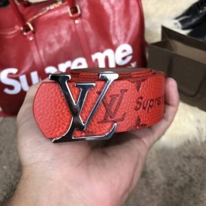Фото Ремни и пояса Belt Louis Vuitton x Supreme Touched Monogram Red