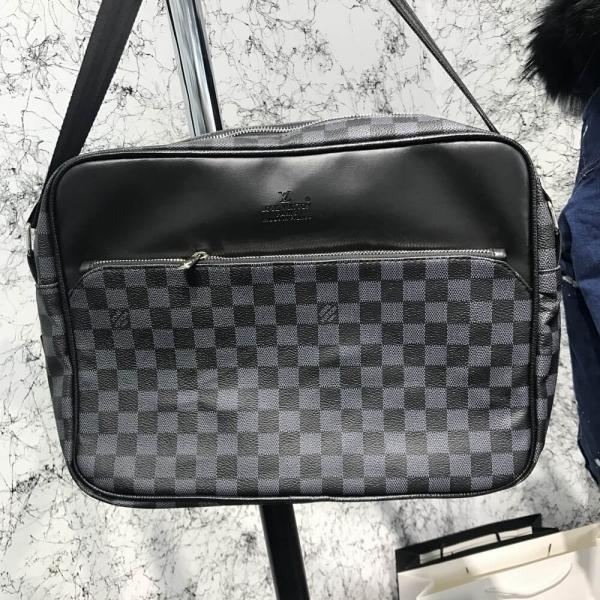 Messenger Louis Vuitton Dayton Reporter MM Damier Graphite