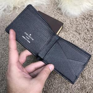 Фото Портмоне и кошельки Louis Vuitton x Supreme Slender Wallet Epi Noir
